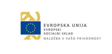 Evropska Unija - Evropski socialni sklad logo