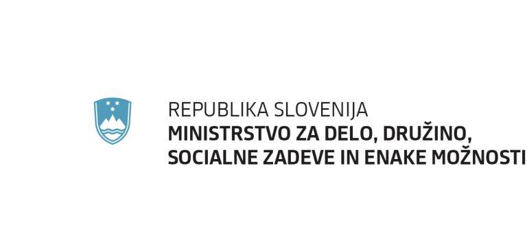 Ministrstvo za delo, družino, socialne zadeve in enake možnosti logo
